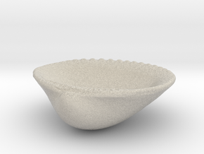 Palm Beach Sea Shell - 3 Inch Jewelry Dish in Natural Sandstone