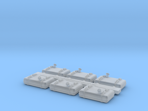 Tank B1000 1 87 Complete in Smooth Fine Detail Plastic