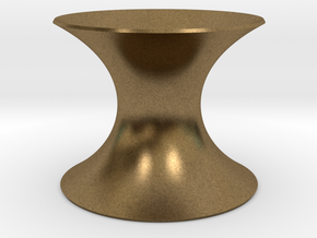 Catenoid Minimal Surface in Natural Bronze