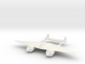 1/200 Grokhovsky G-38 in White Natural Versatile Plastic