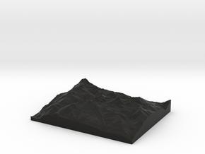 Model of Aosta in Black Strong & Flexible