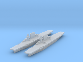 USN Lexington class (1936) x2 1/4800 in Smooth Fine Detail Plastic