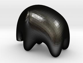 Elephant Black in Matte Black Steel