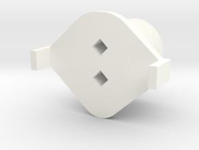 Topre to MX Slider v2.0beta in White Processed Versatile Plastic