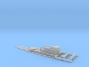 HMS Lion Aft Super Structure inc Details. 1/700 Sc in Smooth Fine Detail Plastic