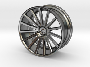 Vossen VFS2 25mm Mini 1-24 Scale in Polished Silver