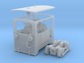 1:45 Tramway loco (complete) Backer & Rueb in Smooth Fine Detail Plastic