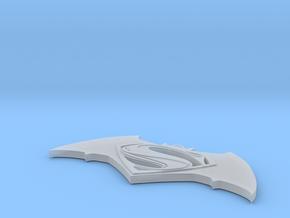 Batman vs Superman PENDANT in Smooth Fine Detail Plastic