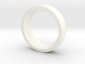 Fiberspar Extension Ring in White Processed Versatile Plastic