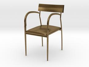 "Bernhardt Studio Chair 3.75"" tall in Natural Bronze"
