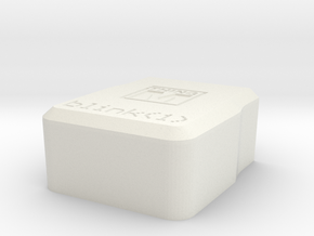 blink(1) enclosure bottom in White Natural Versatile Plastic