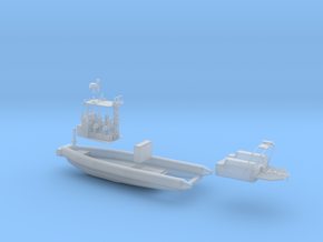 RTB-A950 Wasserlinienmodell Fahrend  in Smooth Fine Detail Plastic