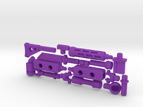 ModiBot 'Recon' System Firearm Set in Purple Strong & Flexible Polished