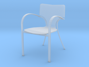 "Strada Chair 3.7"" tall in Smooth Fine Detail Plastic"