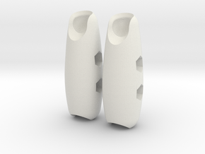 Bulky Forearms for ModiBot in White Natural Versatile Plastic