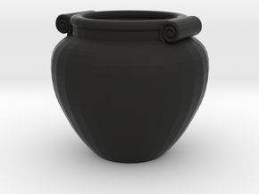Pot in Black Strong & Flexible