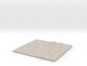 Model of Beddgelert in Sandstone