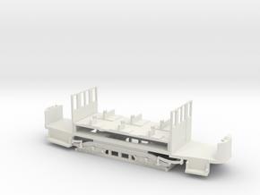 Fünffensterwagen Fahrgestell in White Natural Versatile Plastic