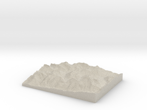 Model of Zug in Sandstone