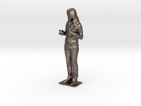 Shirley V - Pre Maker Faire Meetup May 2014 in Polished Bronzed Silver Steel
