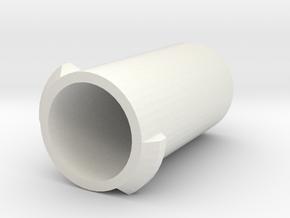 Ice Container 1 in White Natural Versatile Plastic