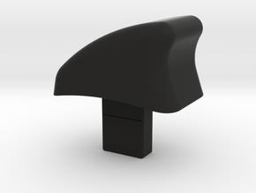 VW OPEL RECARO SEAT, Knopf für Sitzentriegelung in Black Natural Versatile Plastic