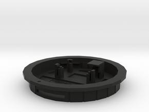 PiCamera Canon rear cap (bfd=0.0) in Black Natural Versatile Plastic