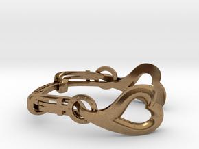 VENUSHAWN Bracelet in Natural Brass