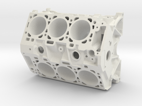 Engine in White Natural Versatile Plastic