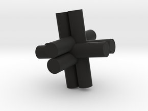 Rod Puzzel in Black Strong & Flexible