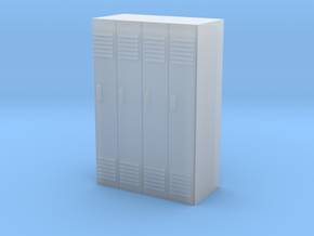 Lockers - 1/87 (HO Scale) in Frosted Ultra Detail