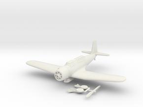 1/144 Vought SB2U Vindicator in White Natural Versatile Plastic