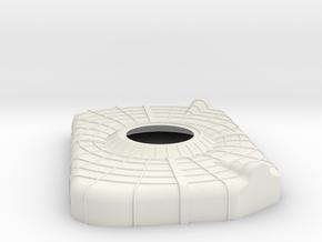Apollo SM Aft Heat Shield 1:10 in White Strong & Flexible