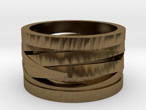 ENCOUNTERS III (20.20 mm) in Natural Bronze