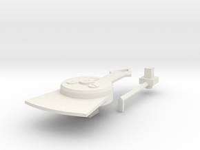 Standard Neddle Set in White Natural Versatile Plastic