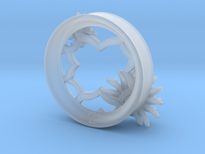 2 Inch Chrysanthemum Tunnel (Right) in Smooth Fine Detail Plastic