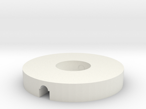 Pipe Disk in White Strong & Flexible