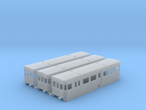 British Rail BUT ACV Railbus Set (N Gauge) in Smooth Fine Detail Plastic
