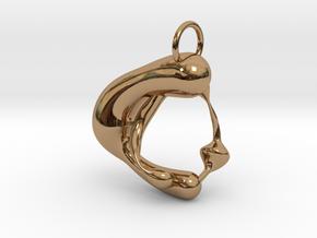 amorphum in Polished Brass
