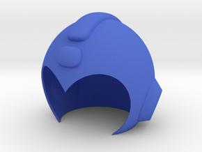 Mega Man Helmet in Blue Processed Versatile Plastic