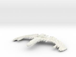 Sendcarie Class HvyCuriser Larger  in White Natural Versatile Plastic