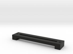 Outer Slide Cover in Black Natural Versatile Plastic