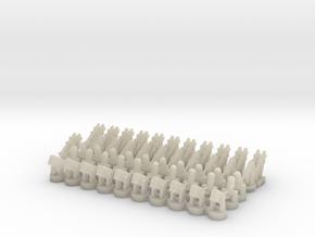 20 CIWS + 10 RAM-1 + 10 RAM-2 + 12 Harpoon in White Acrylic