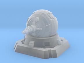 Rebel Turbolaser Turret in Smooth Fine Detail Plastic