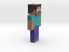 6cm | Herobrine in Full Color Sandstone