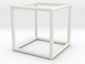 cubemodel rounded in White Natural Versatile Plastic