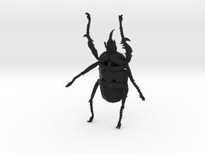 Giant Beetle - Goliath 9cm - Scarab in Black Strong & Flexible