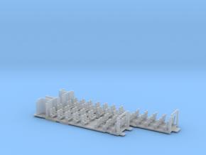 Inneneinrichtung Interex 2.Klasse FUD TT 1:120 in Smooth Fine Detail Plastic