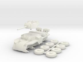 1/100 (15 mm) T18E2 Boarhound in White Natural Versatile Plastic