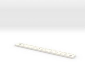 F111 HMNZS OTAGO in White Processed Versatile Plastic